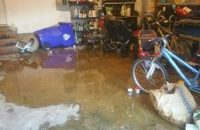 Water Damage Tequesta Water Logged Garage