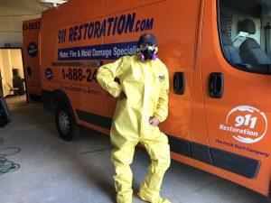 Mold Expert After A Job Well Done